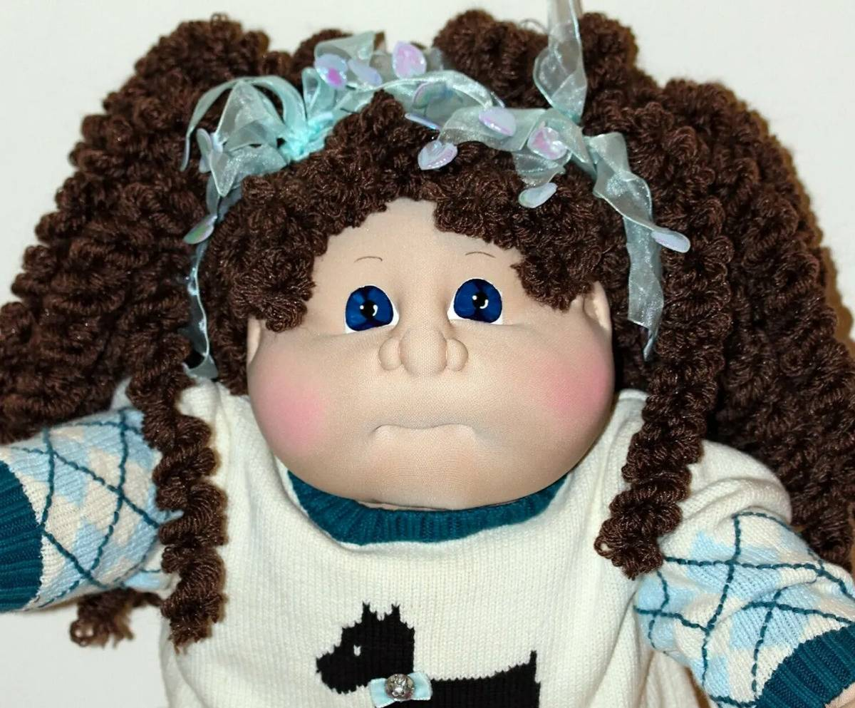 The Hannah Cindy Mossy Creek Edition Cabbage Patch Kid is pictured.