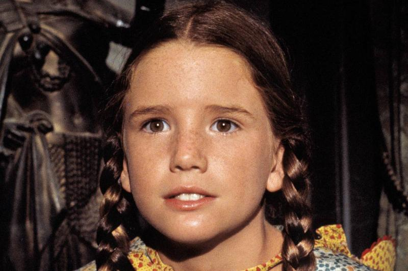 Melissa Gilbert as Laura Ingalls Wilder on Little House on the Prairie