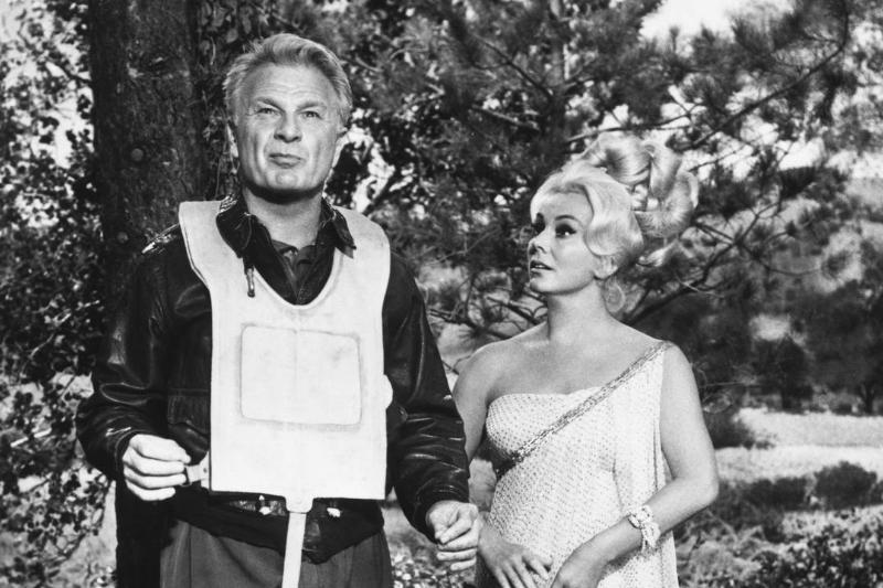 Eddie Albert and Eva Gabor