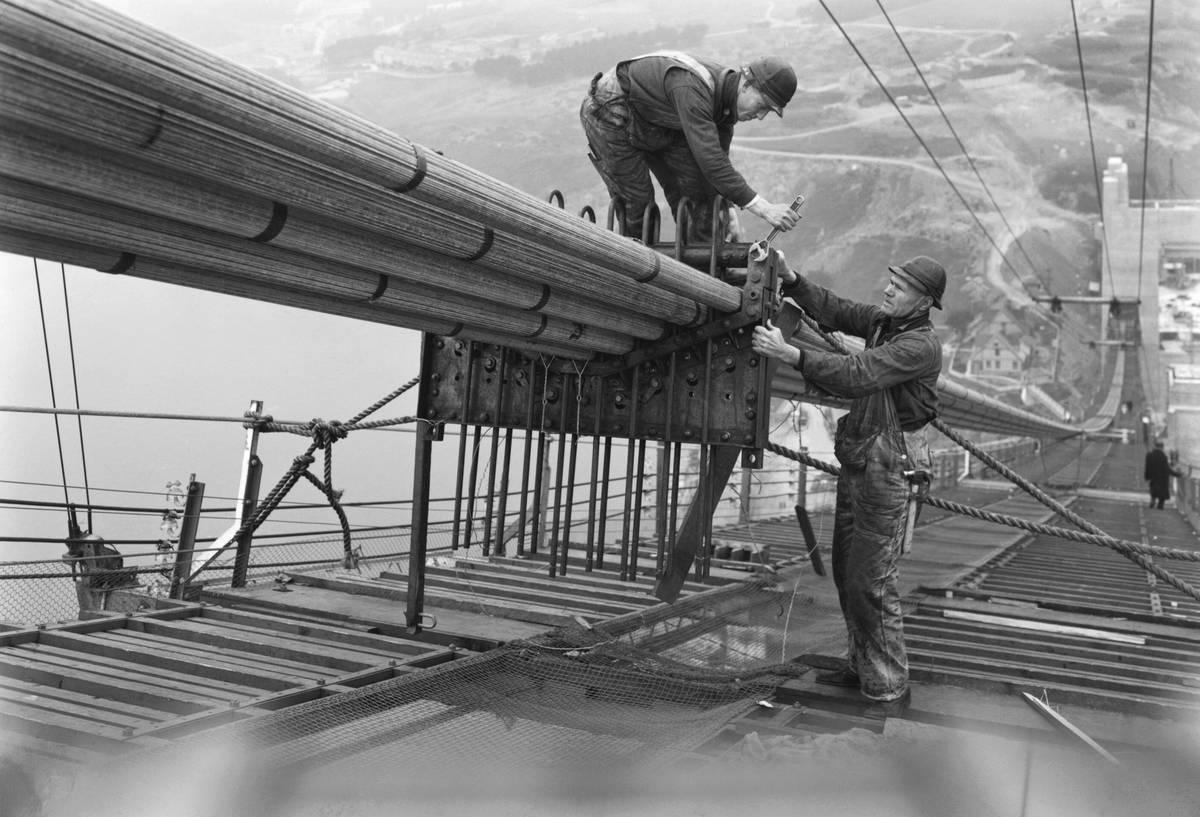 Golden Gate Bridge Work
