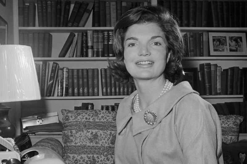 Jacqueline Kennedy Typing Weekly Column