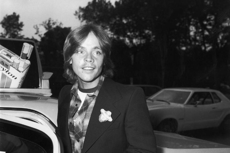 Mark Hamill Entering Taxicab, NYC, 1977.
