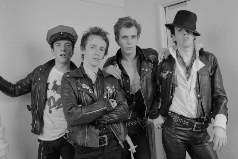 The Clash on First U.S. Visit