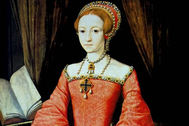 A young Queen Elizabeth I.