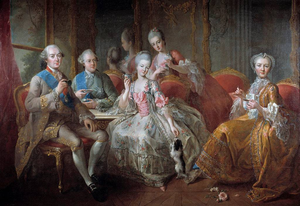 The Penthievre Family in 1768 or The Cup of Chocolate