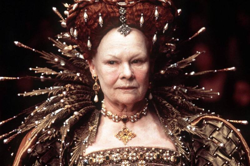 Judy Dench in Elizabeth