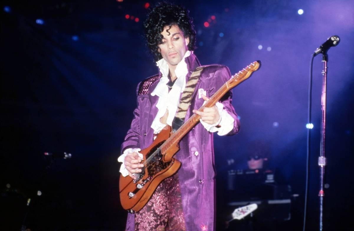 Prince Purple Rain In Detroit