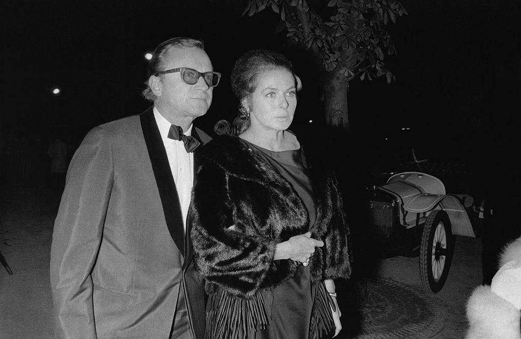 Lars Schmidt and Ingrid Bergman in 1960