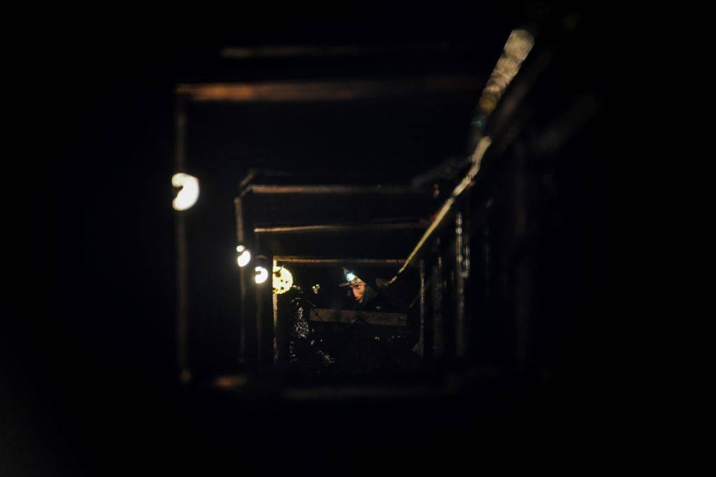 inside an amber mine in myanmar