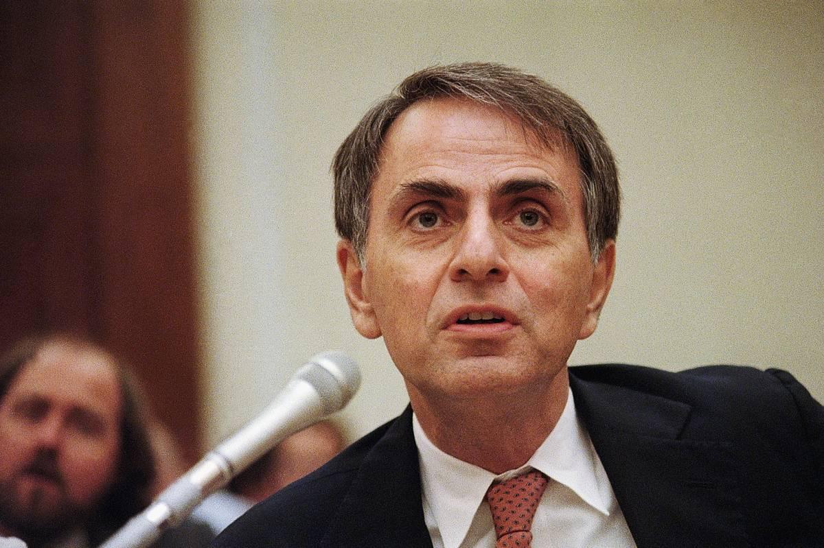 Carl Sagan Testifies At House Hearing