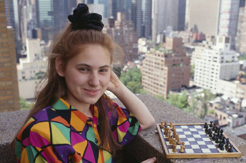 Hungarian Chess Player Judith Polgar
