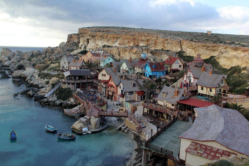 Popeye's village in Malta