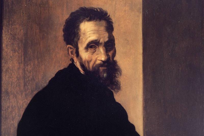 Portrait Of Michelangelo Buonarroti