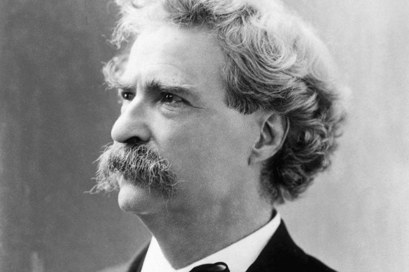 Writer Mark Twain