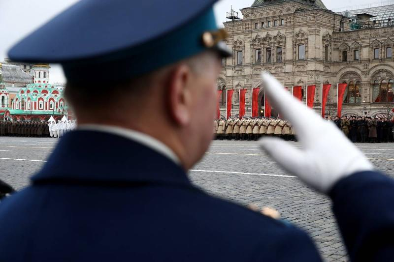 Red Square march marks 78th anniversary of 1941 October Revolution Parade