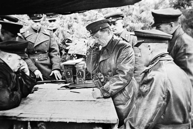 Zhukov In Poland