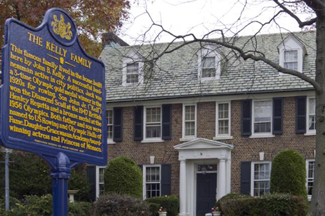 Grace Kelly Childhood Home in Philadelphia.jpg
