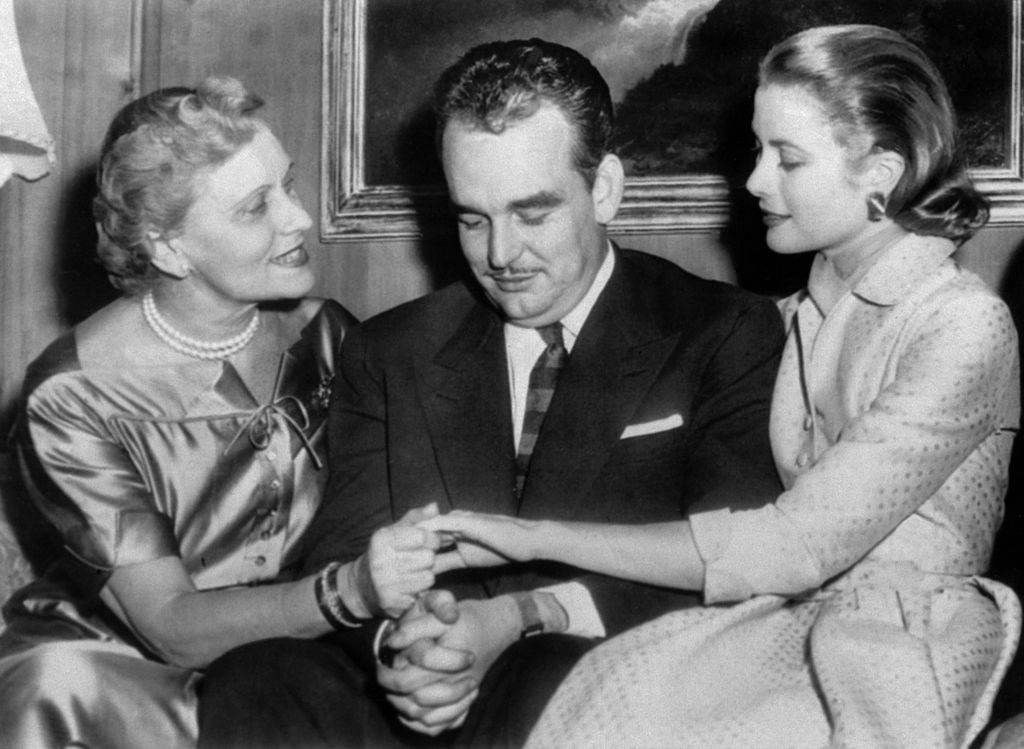 Grace Kelly and Parents