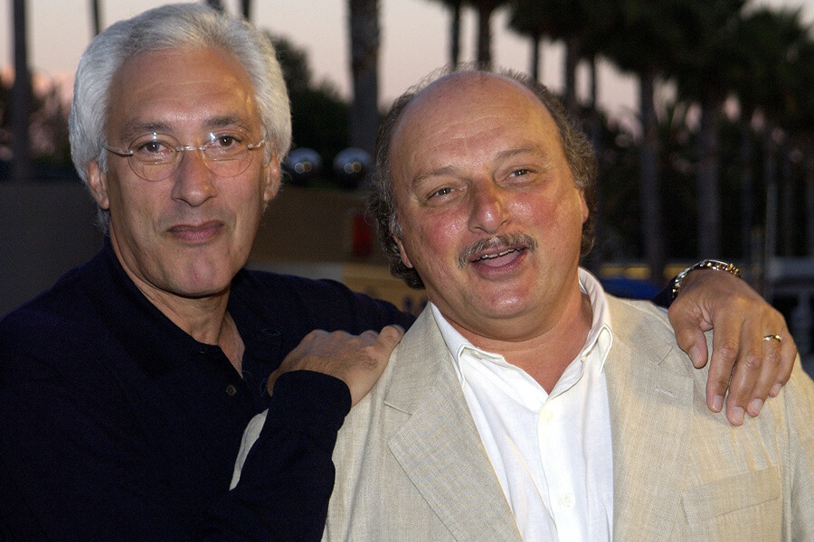Steven Bochco with constant collaborater Dennis Franz.jpg