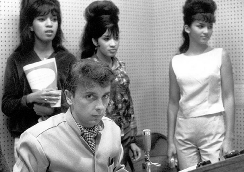 Phil Spector: Vintage Photographs Through The '60s And '70s