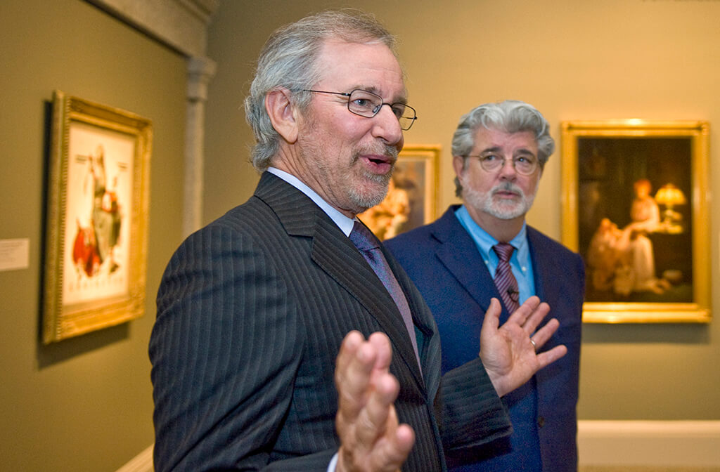 George Lucas and Steven Spielberg Are Big Fans