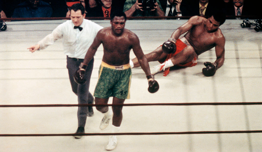 Joe Frazier Ended Ali's Undefeated Streak