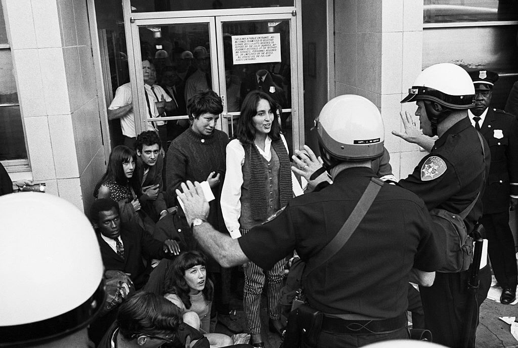 Joan Baez arrested