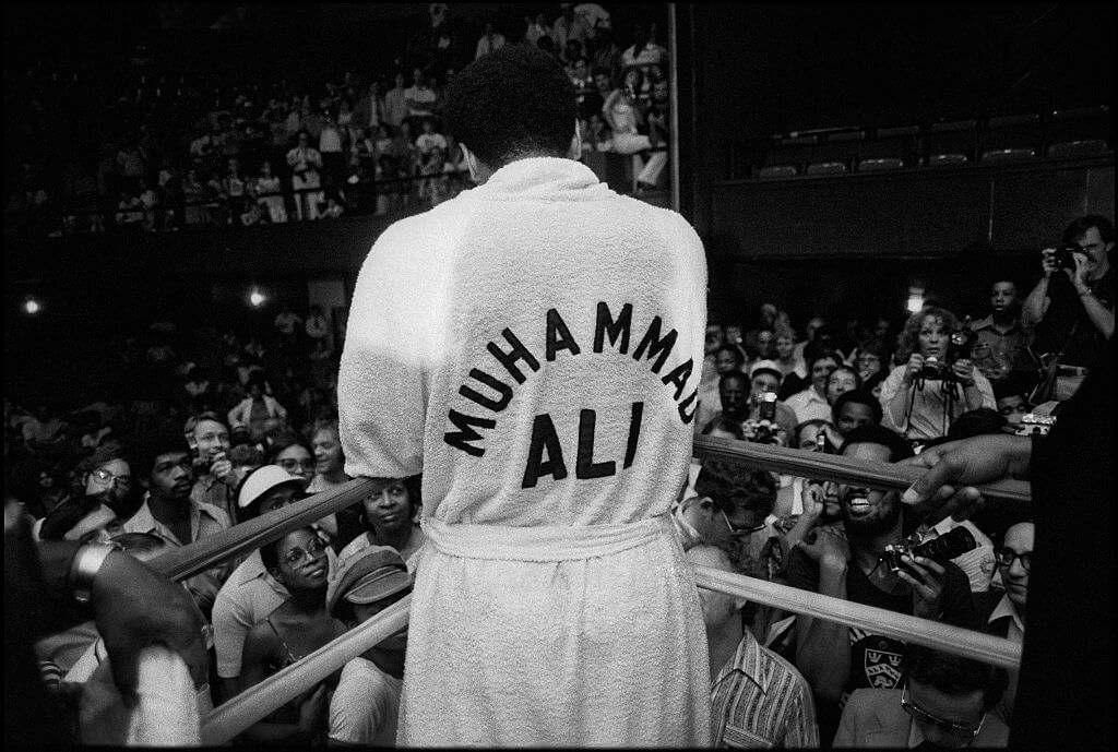 Muhammad Ali once fought superman