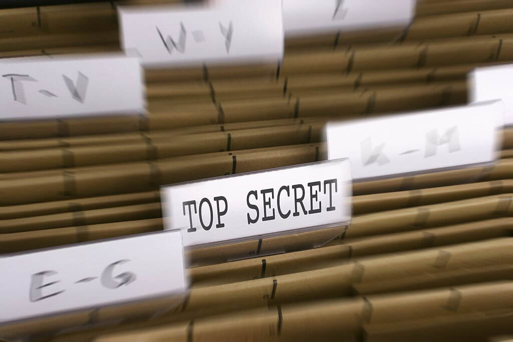 It Could Be Where Top Secret Files Go To Die